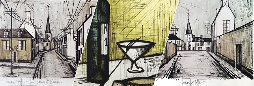 lithographie de Bernard Buffet