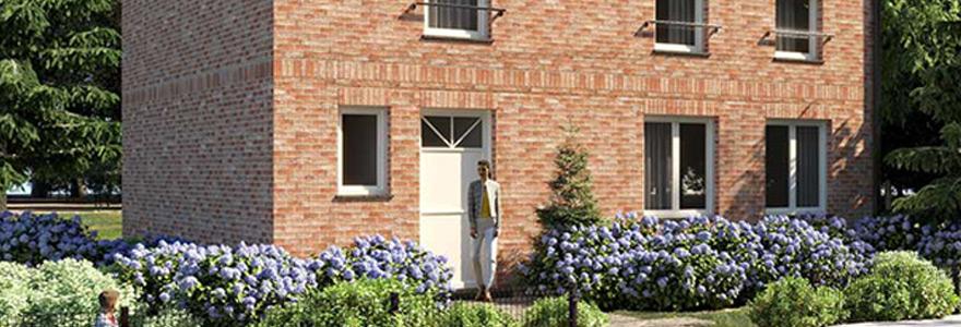 maison cle sur porte