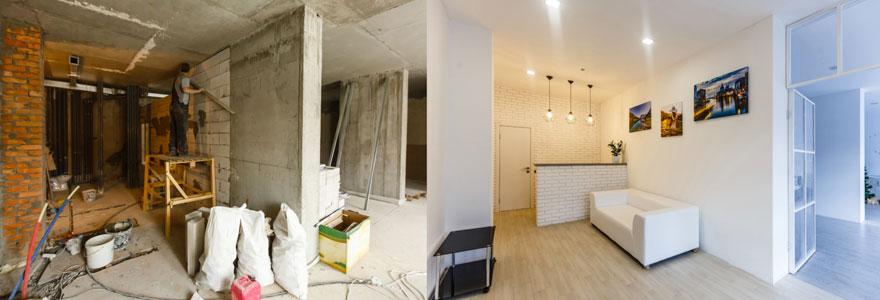 entreprises de renovation de batiments en Belgique
