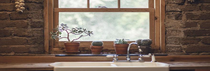 La tendance naturelle pour la décoration d'intérieur