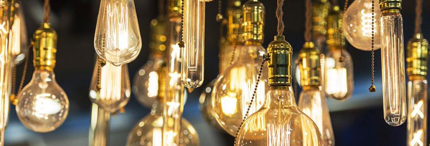 Achat d'ampoules LED