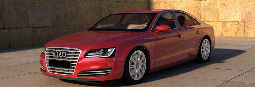 Voitures neuves et d'occasion dédiée Audi