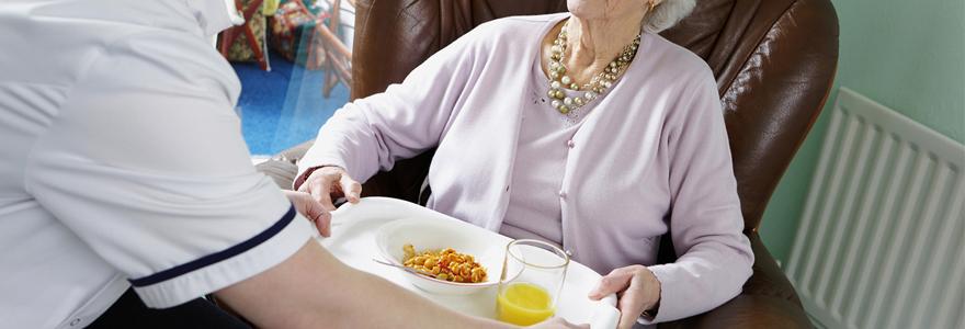 portage de repas à domicile