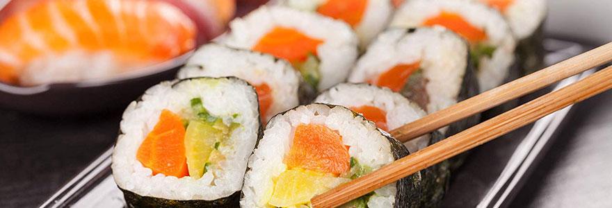 acheter du sushi à Paris rambuteau