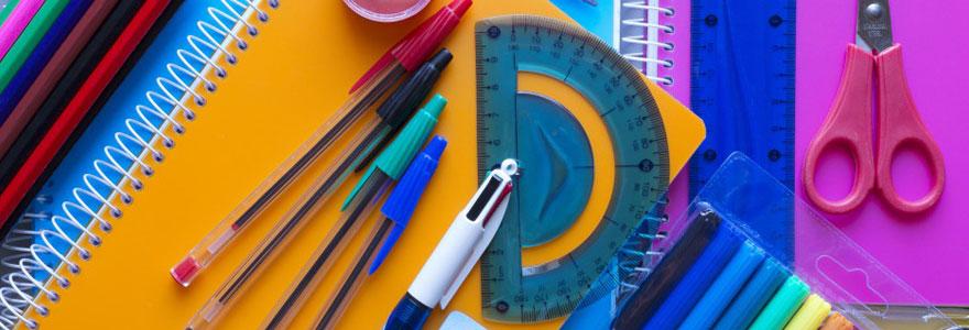 Fournitures scolaires et idées cadeaux en ligne
