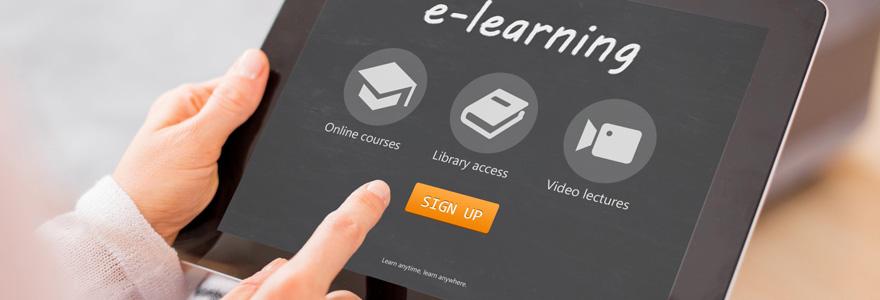 E-learning en ligne