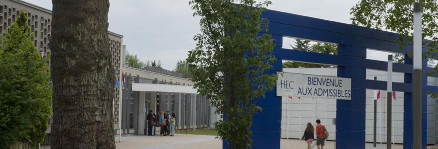 intégrer HEC en AST